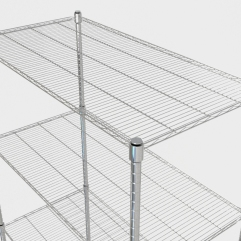 Storage rack detail.