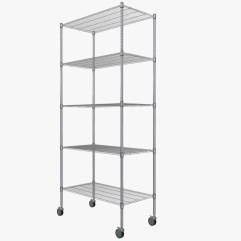 Storage Rack. Modeled in 3ds Max. Rendered with 3ds Max ART Physically Based Render (PBR). Textures created with Quixel Suite. Can be purchased on Turbosquid. View this model in 3D on Sketchfab. Click this link: https://skfb.ly/UPPA
